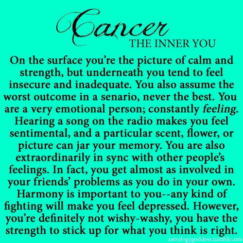 What Does Cancer Mean Zodiac Sign
