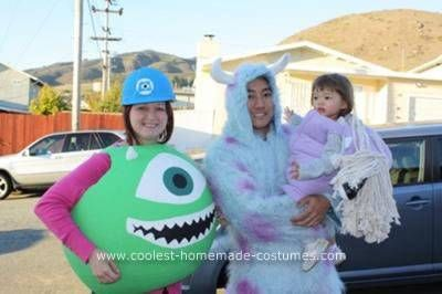 Homemade Monsters, Inc  Family Costume | Costumes | Family
