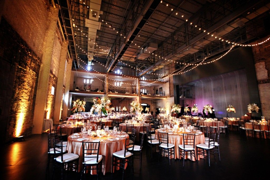 farm wedding venues minneapolis%0A Beautiful wedding reception set up with pin spot lighting  uplighting  around the room and  of course  cafe lights    Our Weddings   Pinterest    Reception