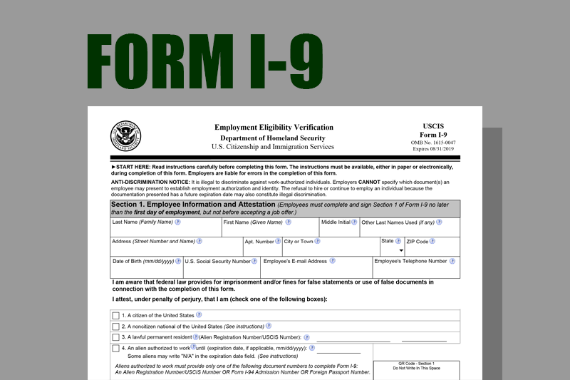 form i-9 2019  Form I-10 August 10 10 Common Misconceptions About Form I-10 ...