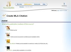 noddlebib an awesome tool that helps you create mla or apa