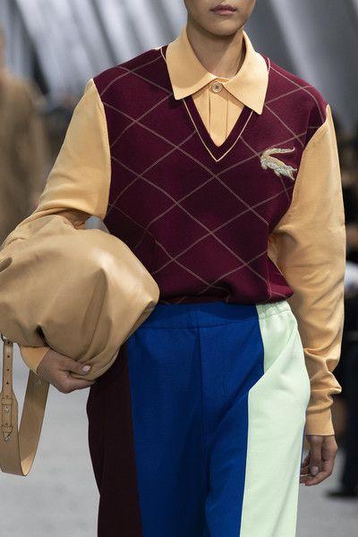 Lacoste at Paris Fashion Week Spring 2020 #runwaydetails