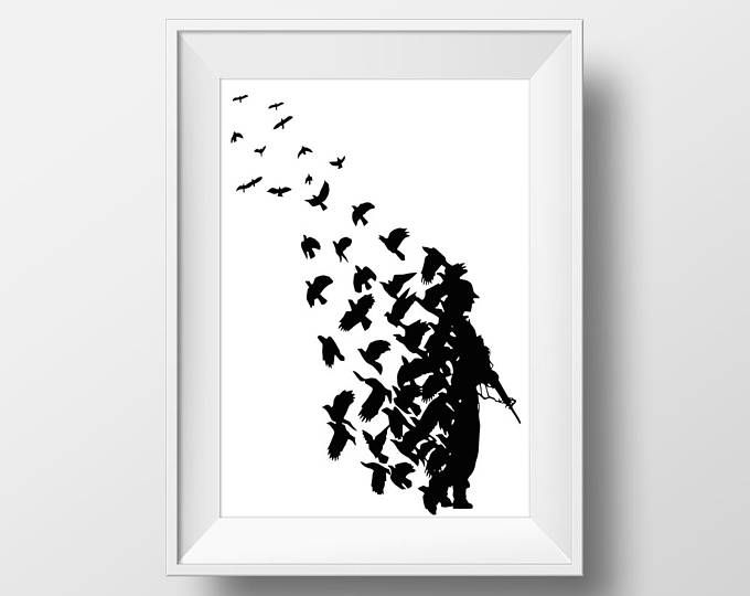 Street Art Banksy Style Barcode Trees Limited Edition Art Print ...
