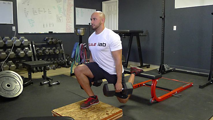 Unilateral leg exercises