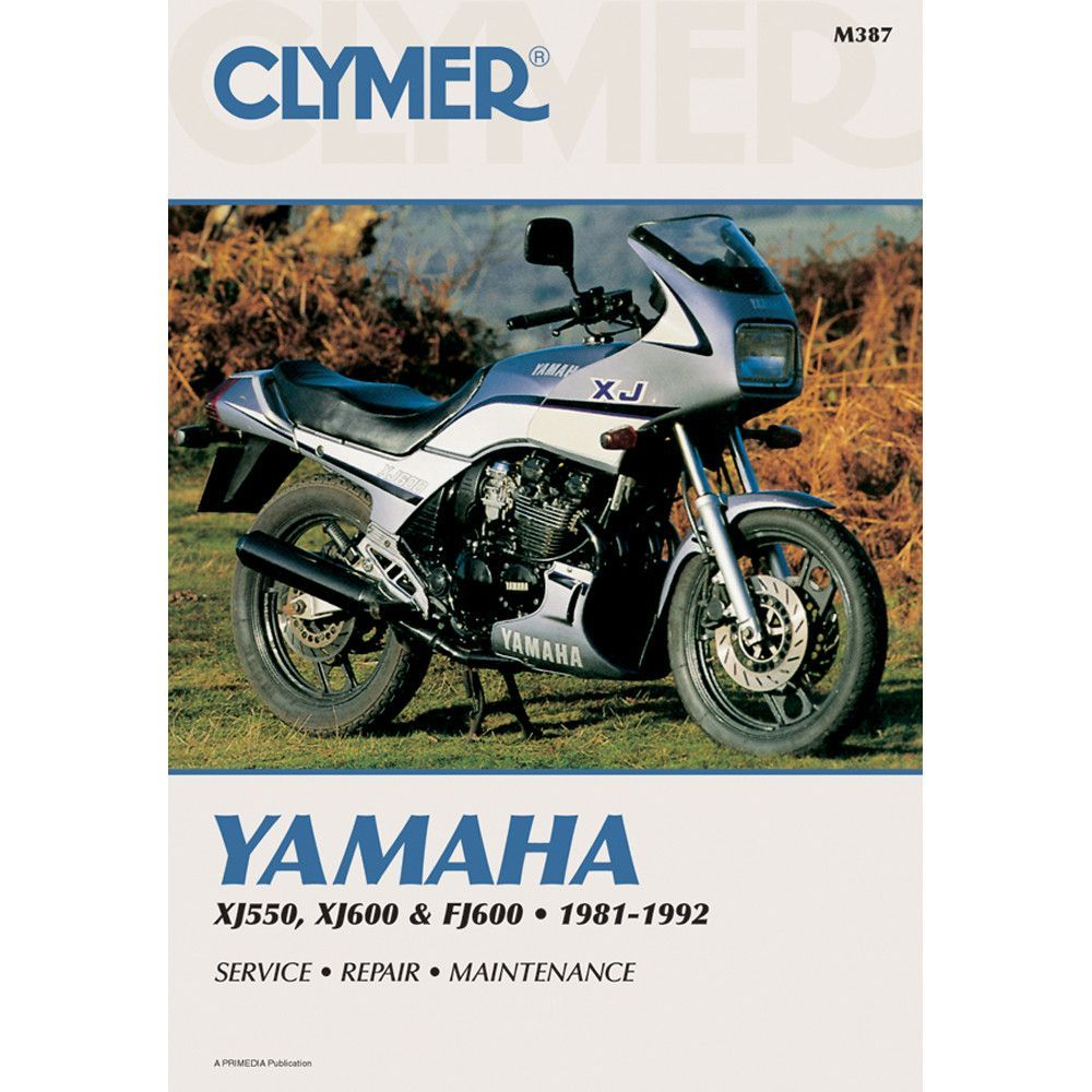 Clymer Yamaha Xj550 Xj600 Fj600 1981 1992 Products Wiring Diagram