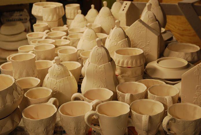 Bisqueware Glassware Clay Ceramics