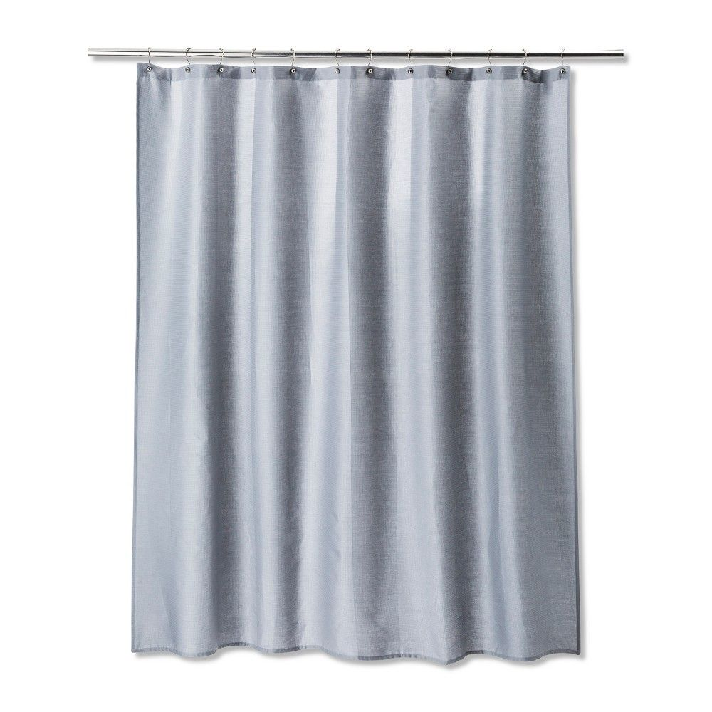 Solid Shower Curtain Gray Mist Room Essentials Grey Curtains