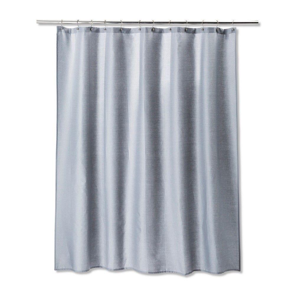 Solid Shower Curtain Gray Mist Room Essentials Grey Curtains