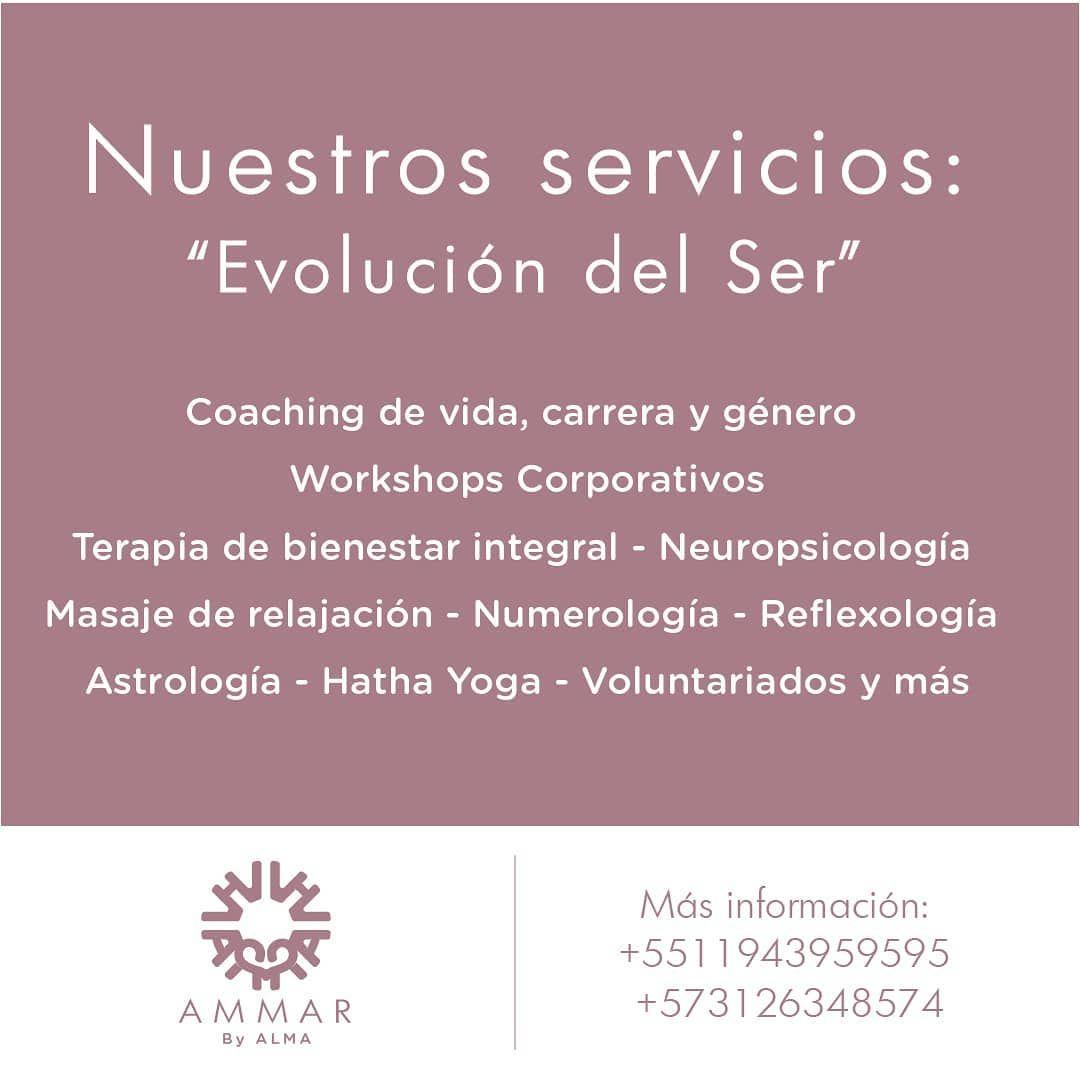 . . . . . .  #ammarbyalma #ser #cali #saopaulo #yoga #meditacion #lifestyle #vidasaludable #coaching #coachingdevida #coachingempresarial #reflexologia #astrology #numerology