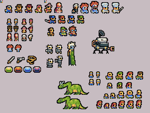 By Chevyray Pixel Art Characters Pixel Art Design Pixel Art