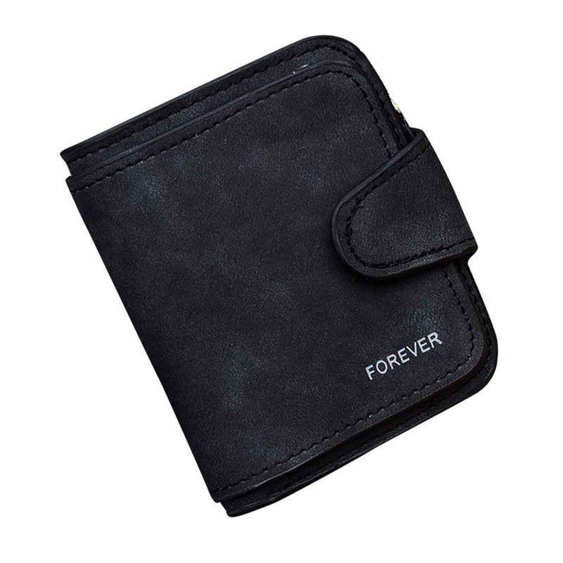 Hot Sale Retro Wallet Women Zipper Hasp Coin Purse Short Wallet Card Holders dollar price women wallets portefeuille femme Lucky