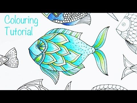 Pin On Adult Coloring Tutorials