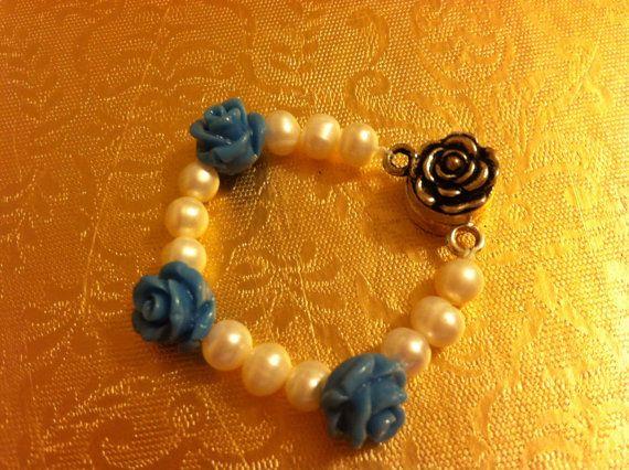 Dolled in Blue Roses from www.leejewelry.net