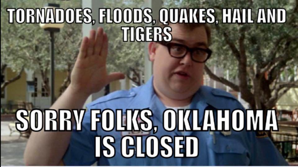 Okie Weather Funny Memes Humor Haha So True