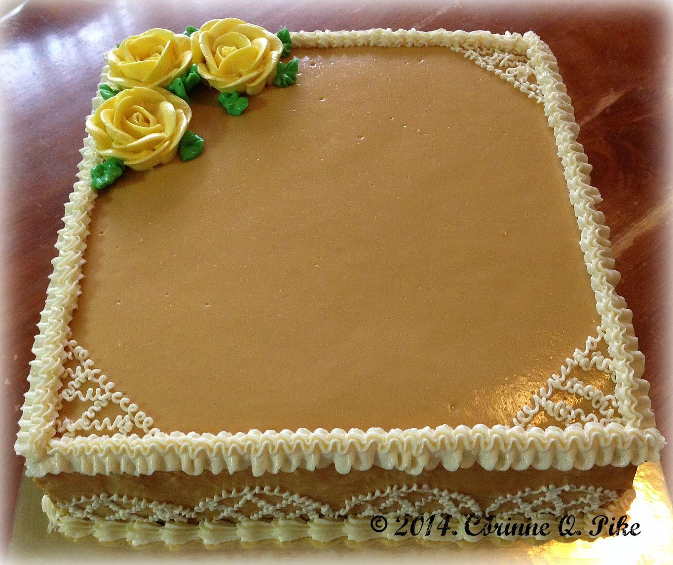 Best caramel cake icing recipe