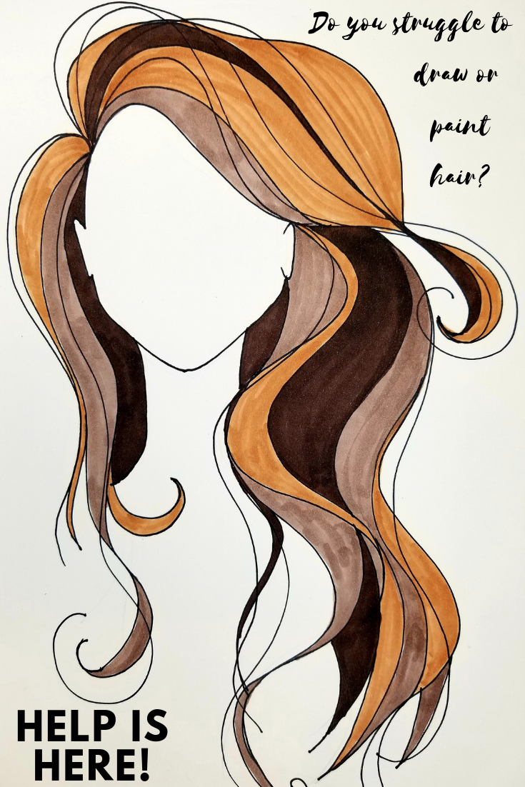 670px Draw Curly Hair Step 10 Jpg 670 503 How To Draw Hair Drawings Pinterest Anatomy Sketches