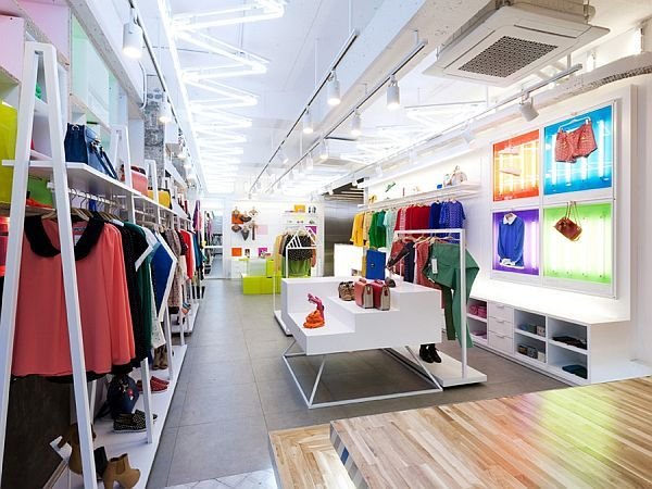 white store interiors - Google 搜尋 | Store Floor Layouts ...