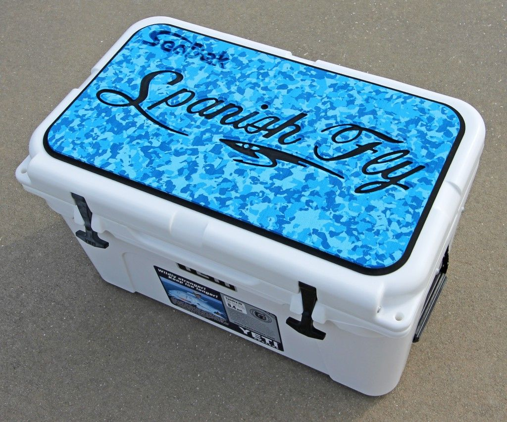 Here are a set of SeaDek cooler pads we are donating for the