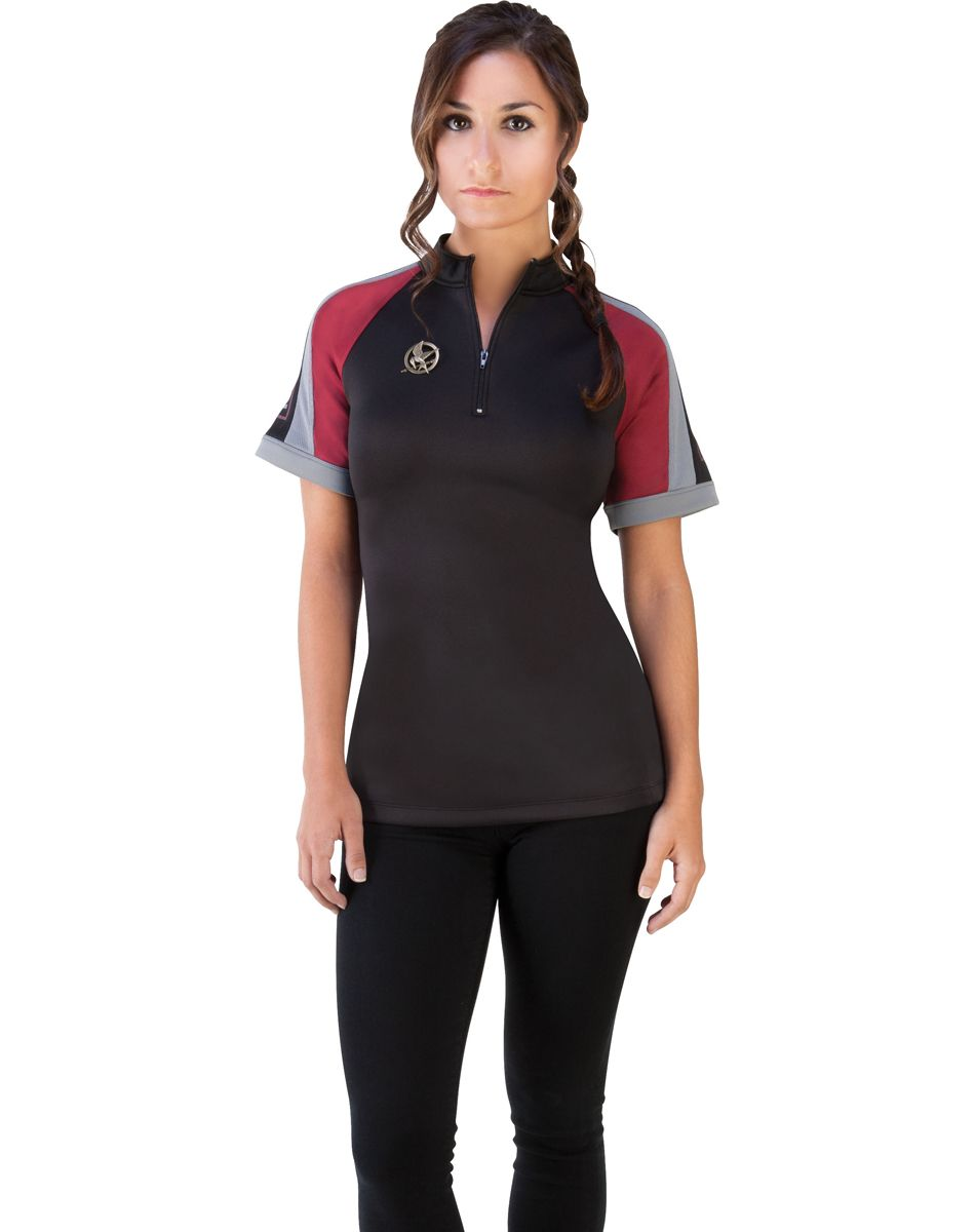 082a1c29 Hunger Games Movie Prop District 12 Training Shirt Costume. Save 20% on  this costume with Spirit of Halloween discount code here: ...