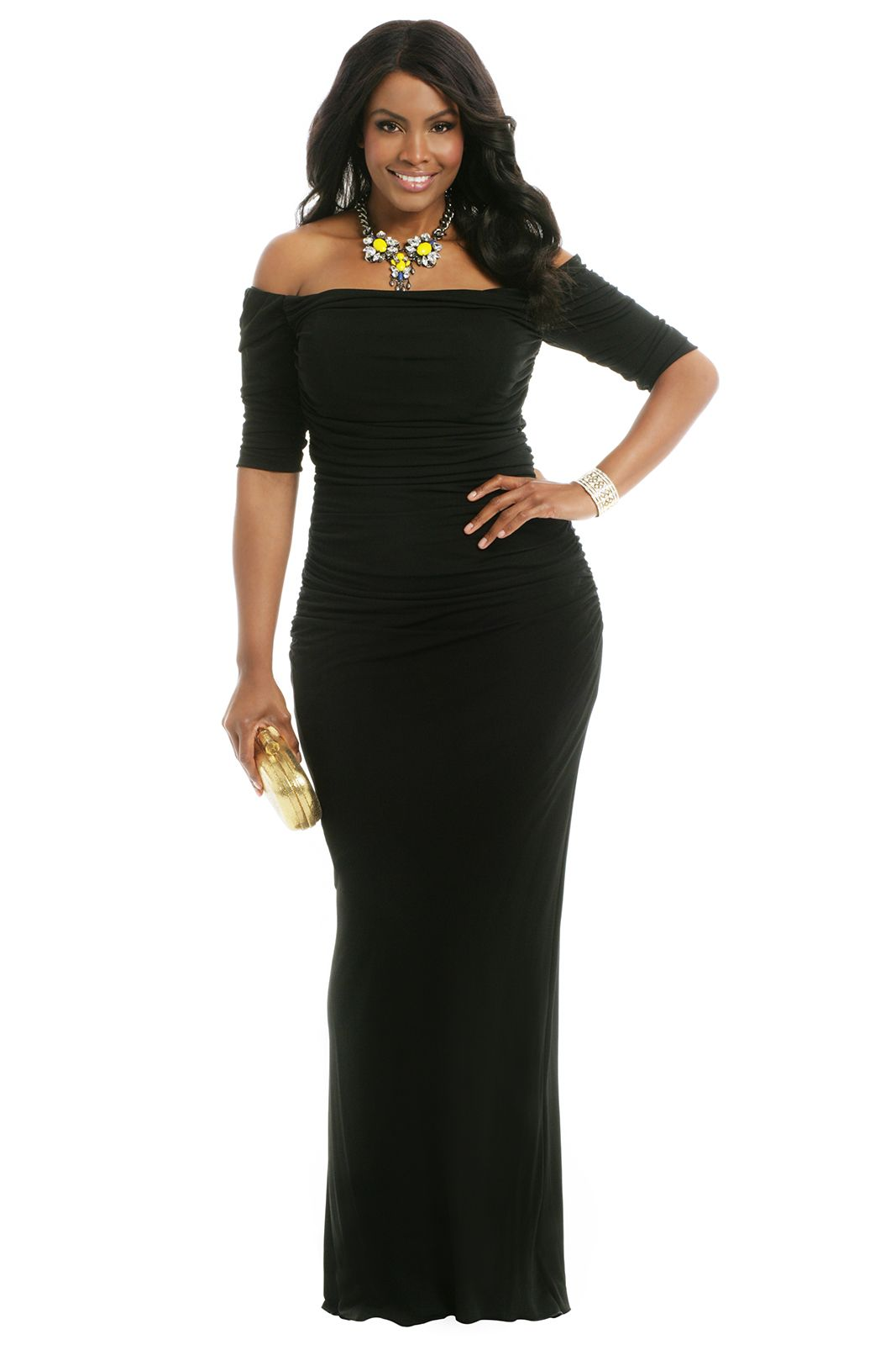 ac6555dfdd7 ... Floor-length Jersey Plus Size Evening Dress.  curvy  sexy  thick  Classic and gorgeous curvy woman  lt 3