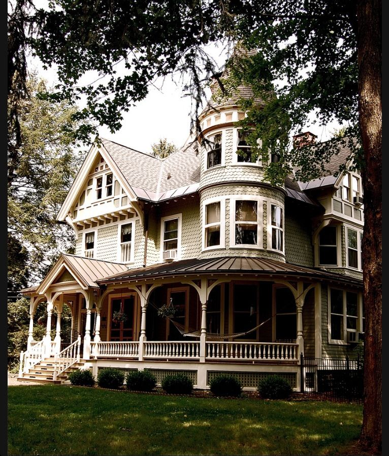 Victorian Country House Victorian Homes Architecture My Dream Home