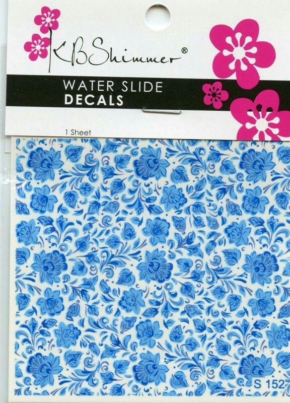 KB Shimmer Water Slide Decals