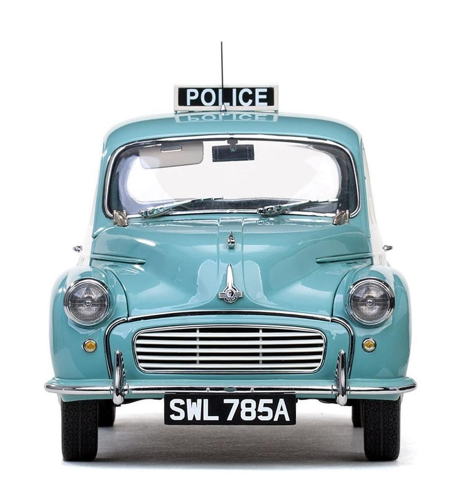 SUNSTAR 1/12 -1963 MORRIS MINOR 1000 - POLICE PANDA CAR MPN 4785 /SEALED /NEW
