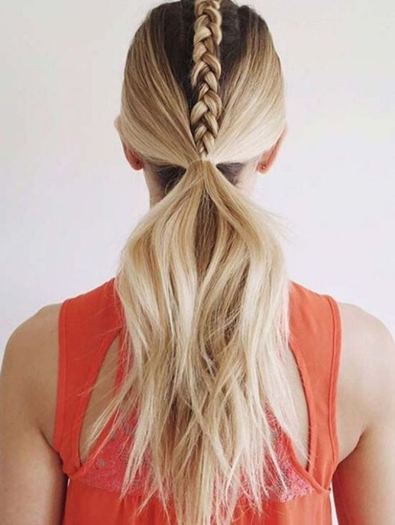 11 cool and practical hairstyle for training | tired, workout