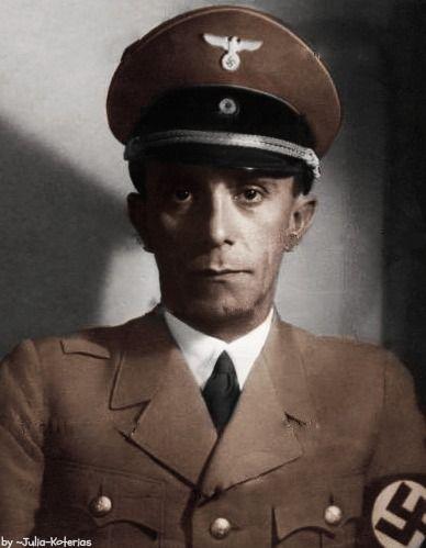 dr joseph goebbels and the nazi german propaganda Four third reich books written by nazi propaganda minister dr joseph goebbels: der angriff • wetterleuchten • die zeit ohne beispiel • das eherne herz.