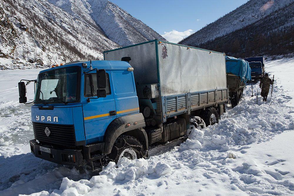 Приехал командировки грузовики на севере