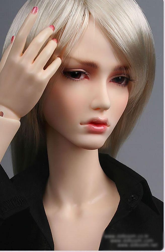 Warrior Lady free eyes BJD 1//3 doll  Alex face make up