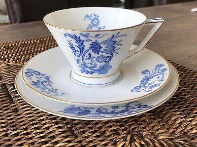Kaffeetasse Teller Untertassen Art Deco Selb Bavaria Heinrich & Co., Lumina Blau  | eBay