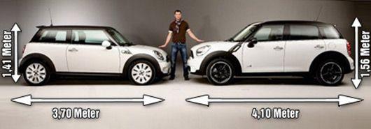 Mini R56 V R60 Comparison Countryman Vs Hardtop