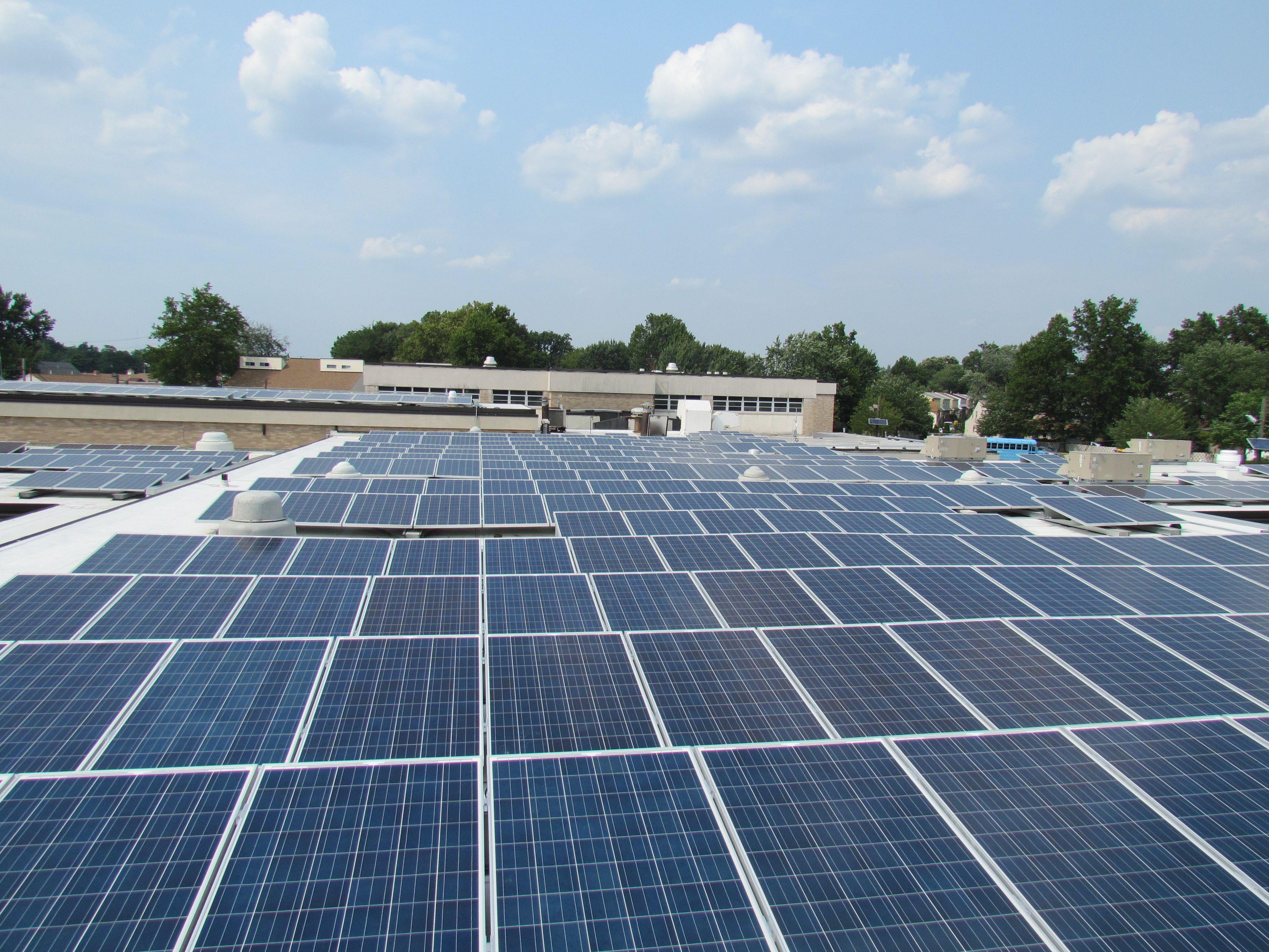 Meadowlands Martifer Solar Usa Installation Little Ferry Nj