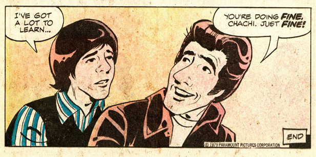 You're doing fine Chachi!   comic books comics out of context