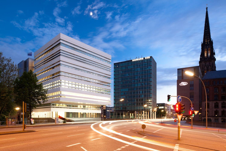 Gnosa Hamburg gnosa architekten wb 57 hamburg architecture the blue hour