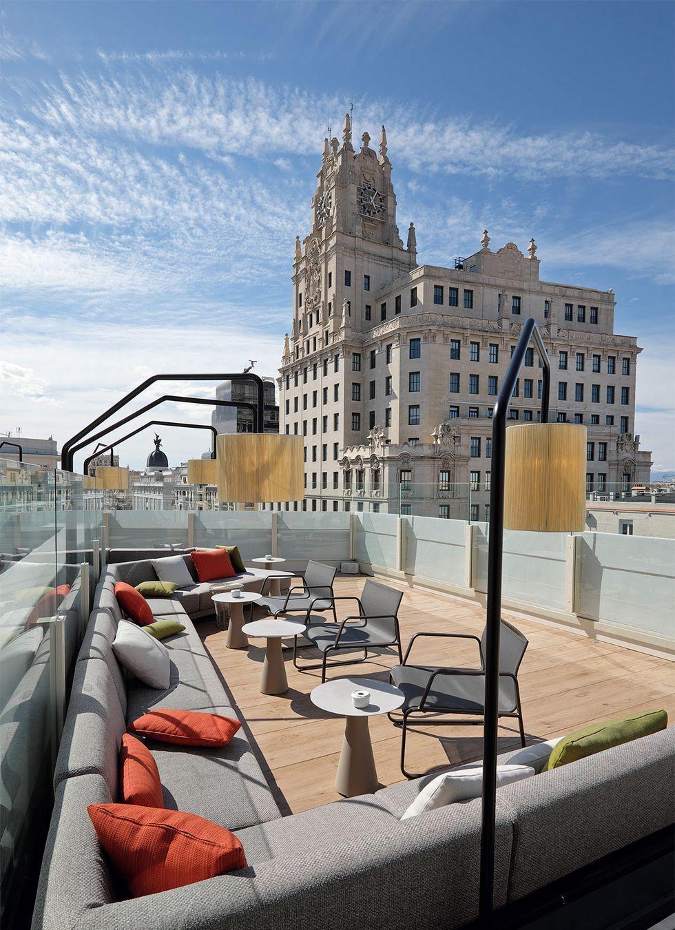 Estas Terrazas En Las Alturas De Madrid Tienen Unas Vistas Para Comerselas Terrazas Madrid Azoteas Madrid Vistas