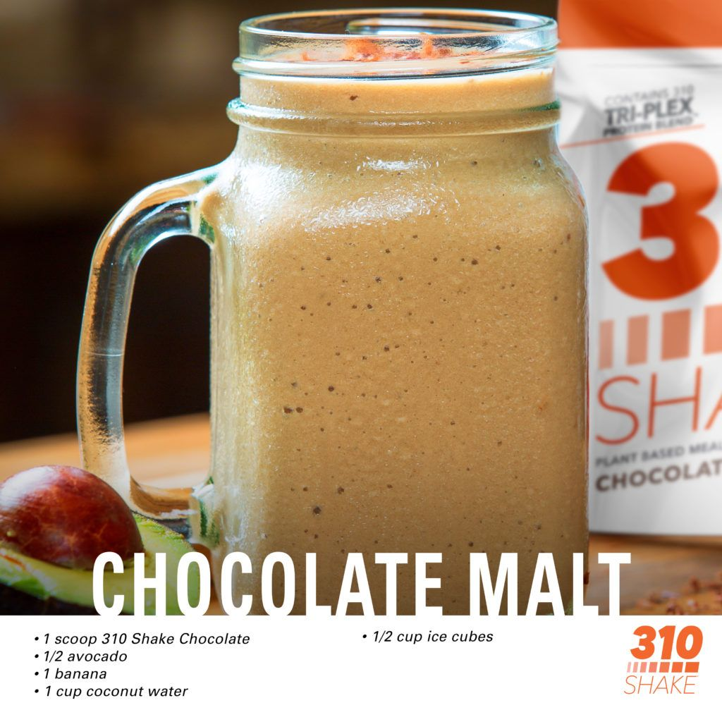 Not Your Mother's Malt: The Chocolate Malt Shake is 345 Calories of Nutrient-Packed Goodness #healthychocolateshakes