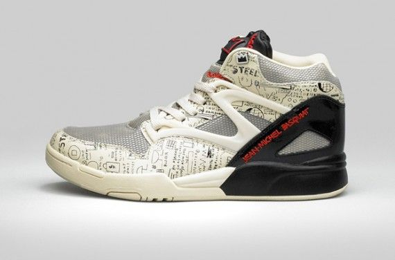 22a3a543ae0 Reebok pays homage to Jean-Michel Basquiat