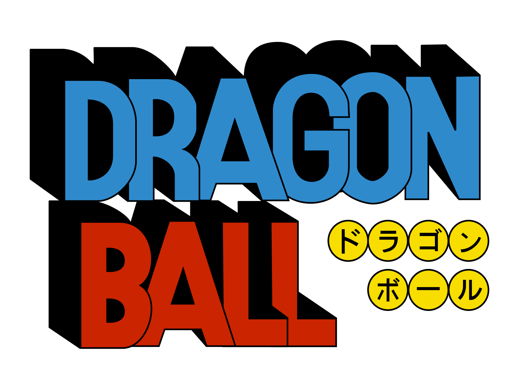 Dragonball Retro Logo Sticker Logo Dragon Dragon Ball Dragon