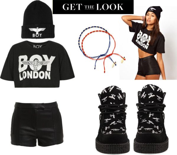 """""""BOY LONDON"""" by brandonstyle ❤ liked on Polyvore"""