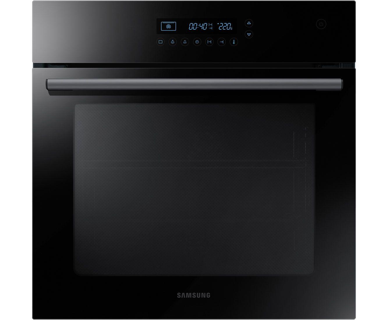 Delightful Black Built In Oven Part - 5: Samsung NV70H5587CB Built In Electric Single Oven - Black / Glass