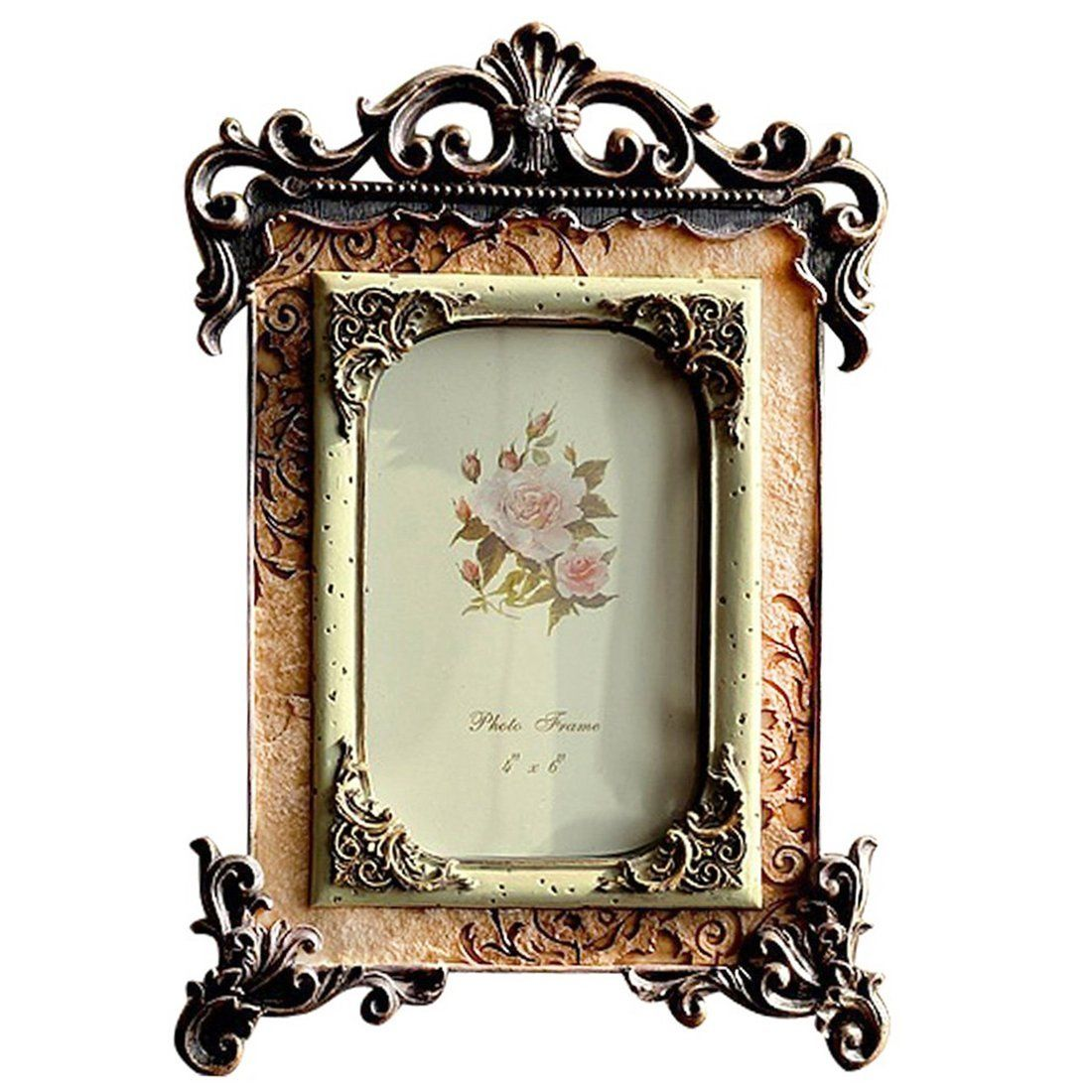 Picture frame 4x6 vintage photo frame picture frames wall or picture frame 4x6 vintage photo frame jeuxipadfo Choice Image
