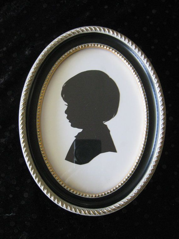 8x10 Black Oval Wood Frame | Silhouettes, Woods and Oval frame