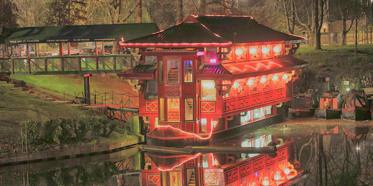 Floating Chinese Restaurant London Primrose Hill Award Winning Chinese Food Beautiful Authent Floating Restaurant Best Chinese Restaurant London Restaurants