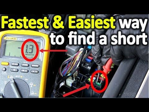 How To Find A Electrical Short On Most Any Car Or Truck You