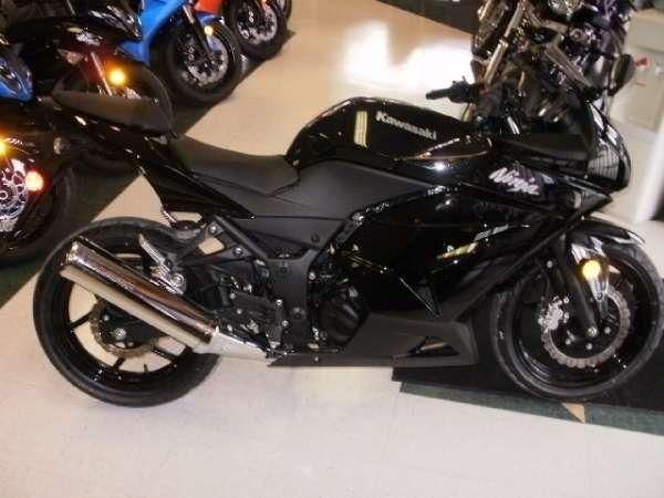 Kawasaki Ninja 250 Black идеи изображения мотоцикла