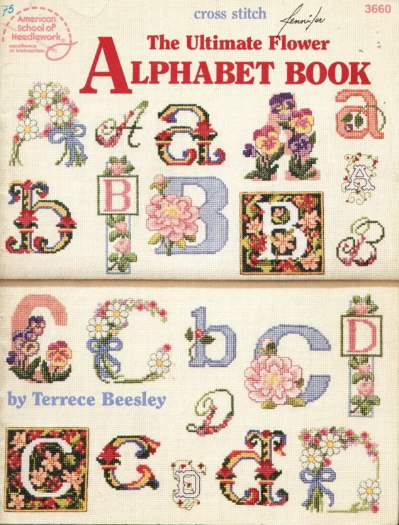 Gallery.ru / Фото #1 - 3660 Terrece Beesley - The ultimate flower Alphabet book - Chispitas