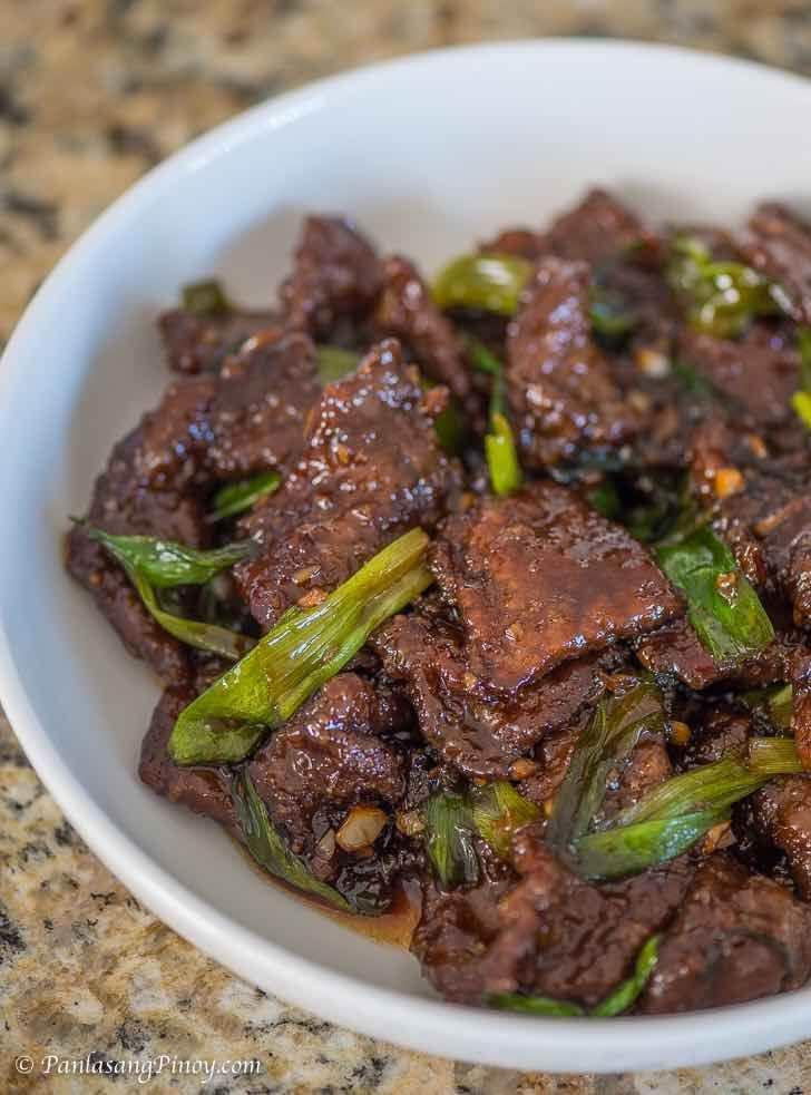 How To Cook Mongolian Beef Panlasang Pinoy Recipe Mongolian Beef Recipes Recipes Beef Recipes