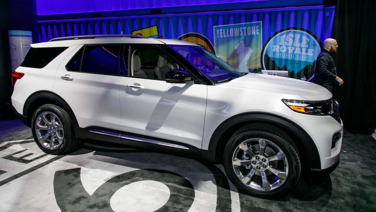 Ford New Explorer 2020 Review And Price Di 2020